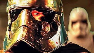 STAR WARS 8 Deleted PHASMA Death Scene VS Original Scene (Which One Do You Prefer?)