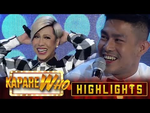 Vice Ganda blushes over Ion's words | It's Showtime KapareWHO