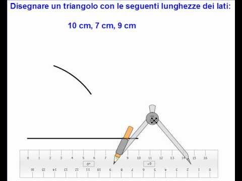 costruzione triangolo