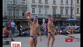 На фінал Кубку України з водного поло львів'ян запрошували спортсмени у плавках