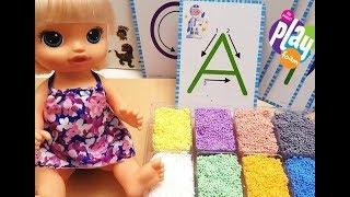 Unboxing Educational Insights Playfoam Shape and Learn Alphabet Set/No Mess PlayFoam/JoyLand