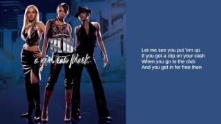 3LW: 07. Put 'Em Up (Lyrics)