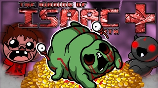 The Binding of Isaac: Afterbirth+: BLOATED WITH GOLD! (April Fools Challenge)