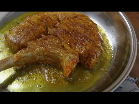 Video Tender & Juicy Pork Chop Simple Method