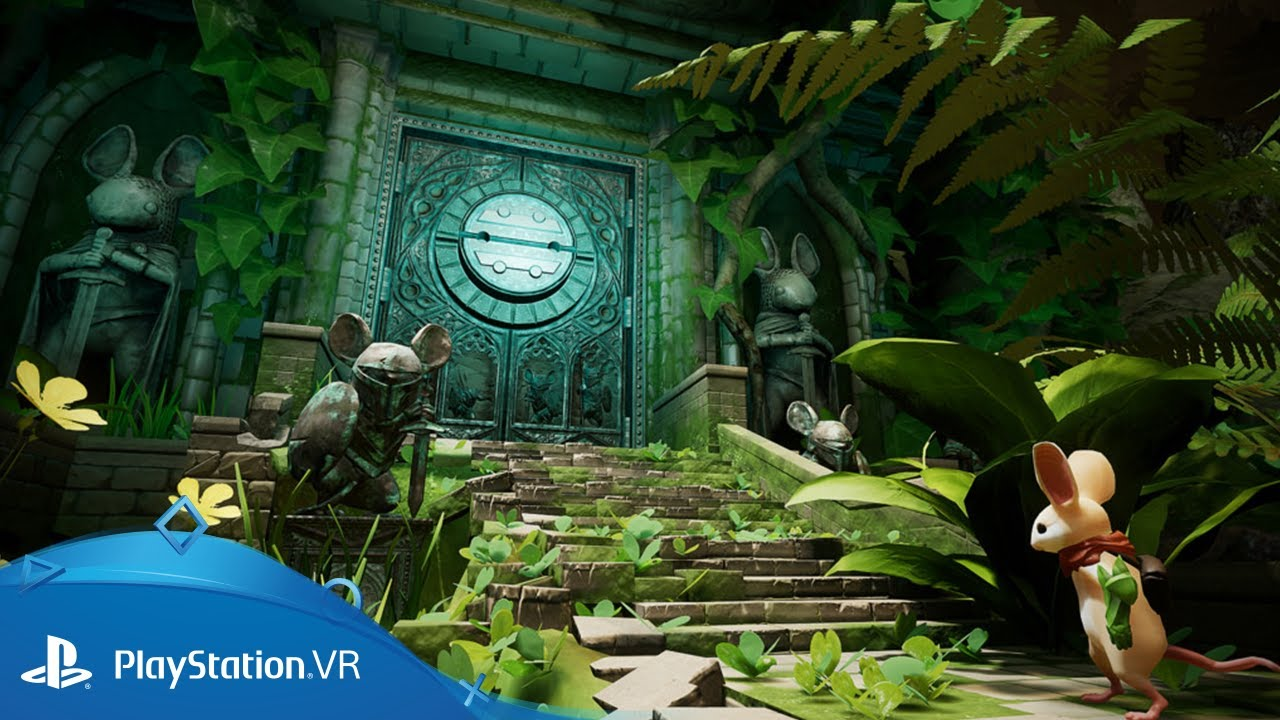 Introducing Moss, a charming new adventure coming soon to PS VR