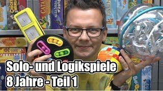 Top Solospiele und Logikspiele - 8 Jahre - Teil 1