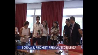 Scuola, il Pinchetti premia l'eccellenza