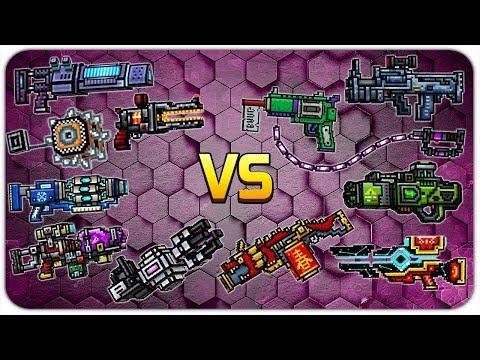 Pixel Gun 3D - Wall Break Weapons VS Area Damage Weapons