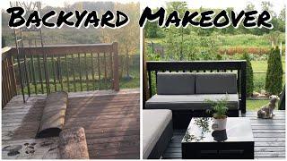 BACKYARD RENOVATION / Outdoor Patio And Backyard Makeover / Backyard Makeover / Deck Makeover