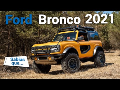 Ford Bronco 2021 - renace el legendario 4x4