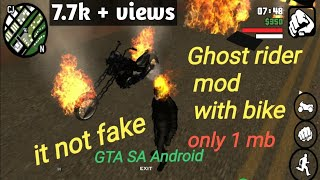 gta san andreas powerful mod 2 ghost rider - मुफ्त