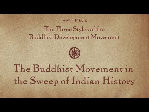 MOOC BUDDHA1x | 4.2 The Buddhist Movement in the Sweep of Indian History