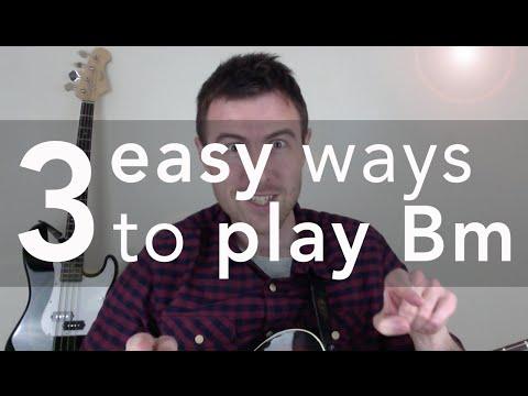 Bm Guitar Chord (3 Easy Versions)