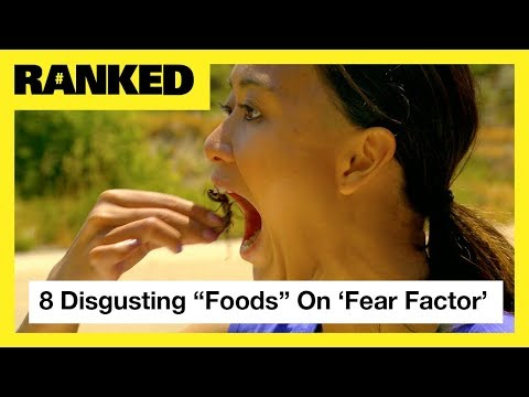 8 Disgusting Foods 'Fear Factor' Contestants Actually Ate 🤢 | MTV Ranked