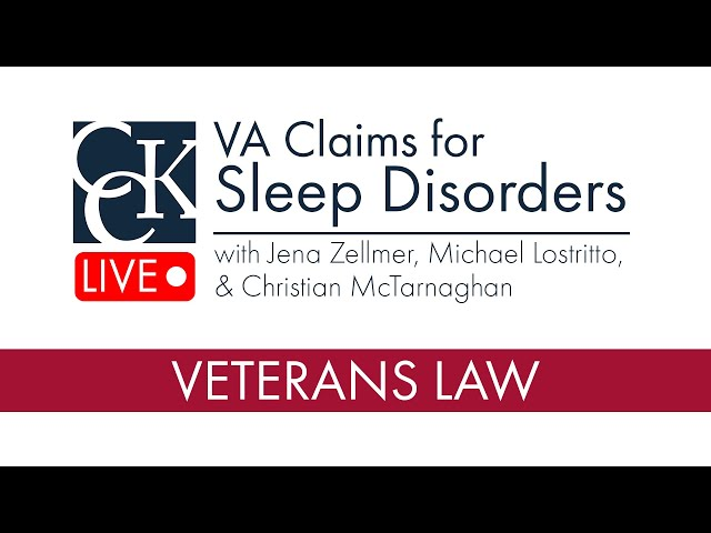 VA Disability for Sleep Disorders