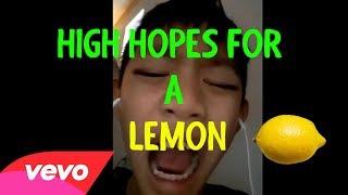 High Hopes For A Lemon | Official Lyrics