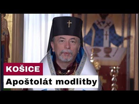 Sledujte naživo Apoštolát modlitby z Arcibiskupskej Kaplnky - Košice