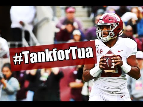 Which NFL team will Tank for Tua Tagovailoa?