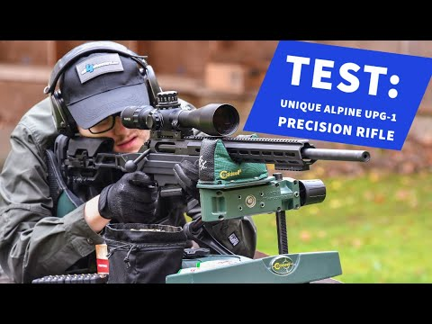 Unique Alpine: Test: Unique Alpine UPG-1 in .308 Win. – Firing the affordable precision rifle up to 300 m
