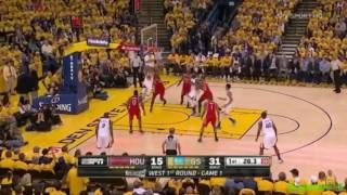 """Steph Curry """"Ma Cos'è, Ma Cos'è!"""" (Live🎙 F.Tranquillo E D.Pessina)  G1 Playoff 2016 Vs Rockets"""