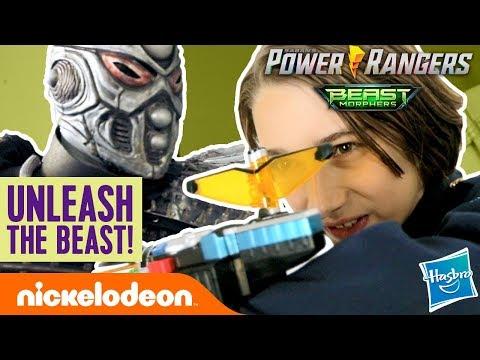 Gabe & Garrett Unleash the Beast! | Power Rangers Beast-X Morphers Ep. 2 | Nick