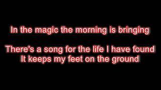 Alan Jackson - Song for the life LYRICS
