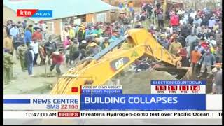 Search for more survivors continues after building collapsed in Kapsabet