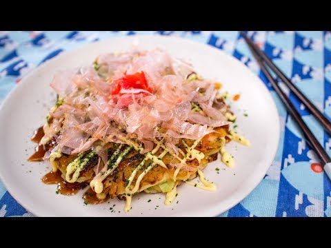 Okonomiyaki Recipe – Japanese Pizza / Pancake  – Pai's Kitchen!