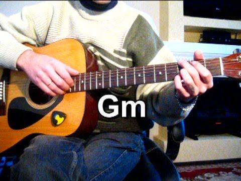 Губит людей не пиво - Тональность ( Gm ) Как играть на гитаре песню