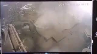 Пожар и взрыв на буровой Роснефти в Нижневартовском районе