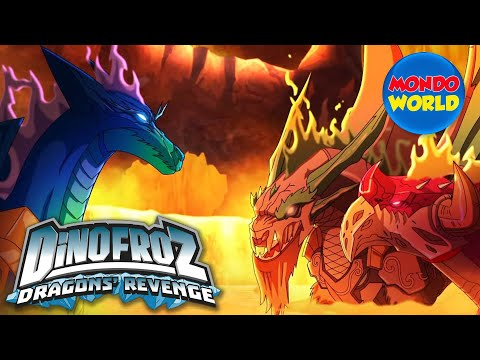 DINOFROZ 2 episode 3 | AN ISLAND IN THE SKY | Dinosaur cartoon for kids
