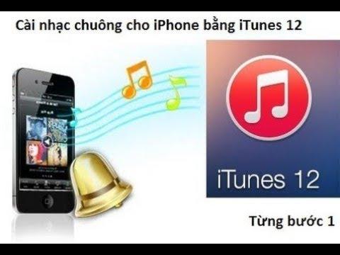 Tải nhạc chuông cho iphone bằng itunes mới nhất - Itune 12.7