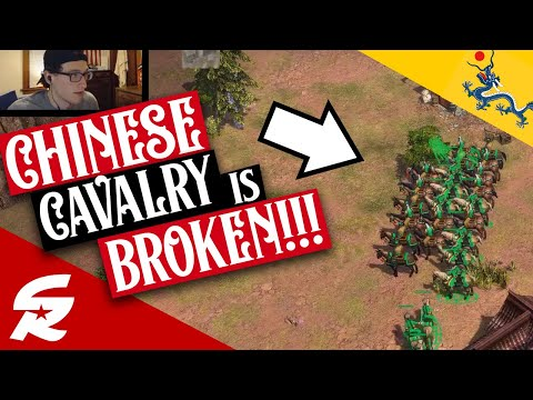 OVER POWERED Chinese Cavalry!! | Strategy School | Age of Empires III