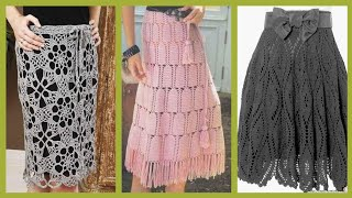 Gorgeous Most Outstanding Casual Wear Crochet Skirts Ideas And Styles For Girls And Women