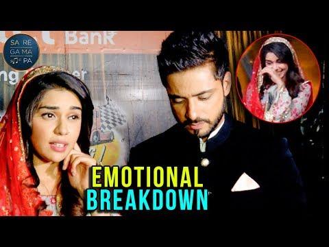 Eisha Singh Emotional Breakdown At Sa Re Ga Ma Pa