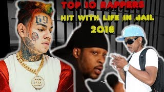TOP 10 Rappers In Jail For The Most Violent Crimes, Hit With Life Sentences & Still In Jail 2018