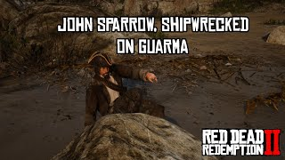 John Sparrow Stranded On Guarma