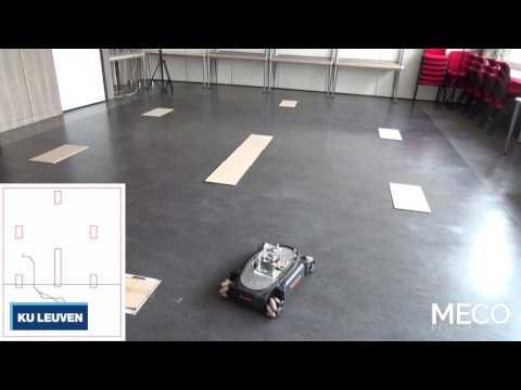 Spline-based motion planning in a vast environment