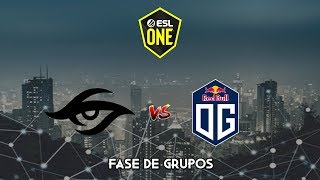 Team Secret vs OG - ESL One Los Angeles