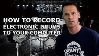 Record Electronic Drums to Your Computer (Super Easy!) + Make Covers