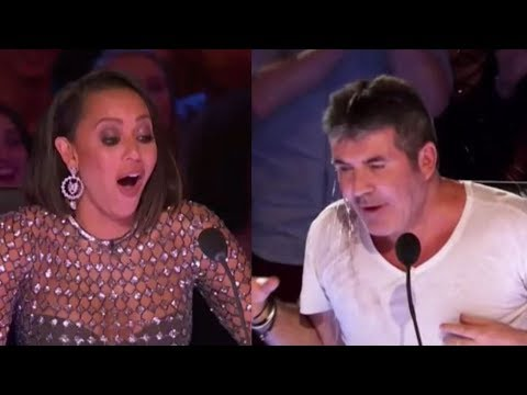 Mel B Standing Up To Abuse From Simon Cowell | America's Got Talent 2017 (видео)