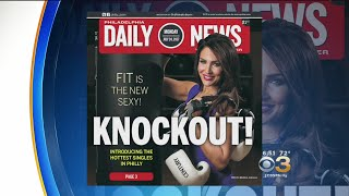 CBS3's Meisha Johnson Graces The Cover Of Daily News' Singles Edition