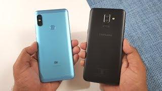 Samsung Galaxy J8 vs Redmi Note 5 Pro Speed Test !