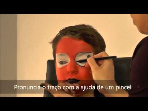 Tutorial make-up de Spiderman
