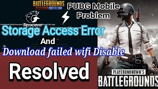 pubg problem download paused because wifi is disabled telugu