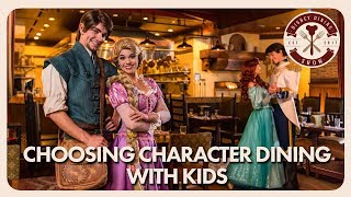 Walt Disney World Character Dining With Kids   Disney Dining Show   08/24/18