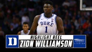 Zion Williamson Duke Basketball Highlights - 2018-19 Season   Stadium