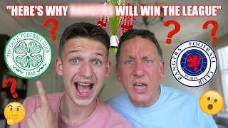 CELTIC Or RANGERS TO WIN THE LEAGUE?! | OUR SPFL PREDICTIONS 20/21