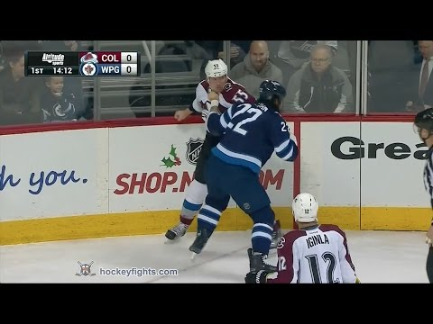 Chris Thorburn vs. Cody McLeod