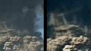 Explosion jets moving up and down the towers 9/11